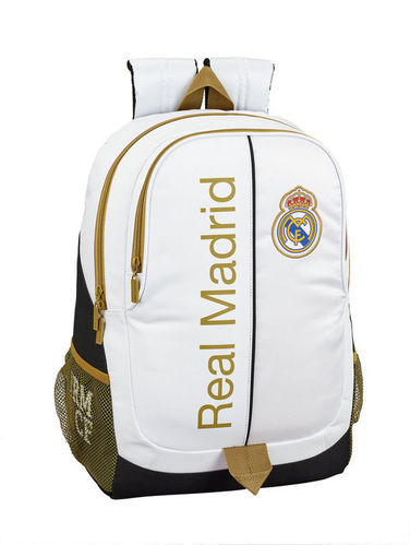 MOCHILA ADAPTABLE 44CM REAL MADRID 1ª EQUIP 19/20