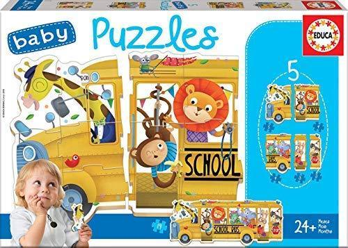 BABY PUZZLES BUS ANIMALES