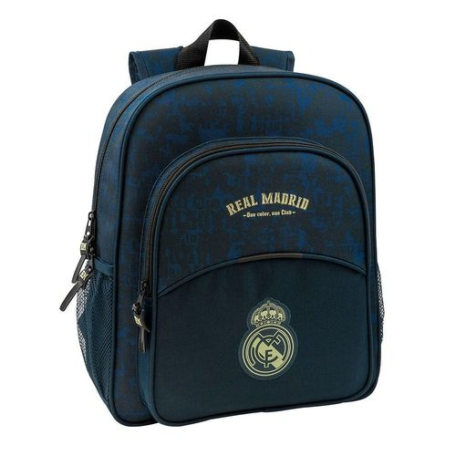 MOCHILA JUNIOR ADAPT.CARRO REAL MADRID 2ª EQUIP. 19/20